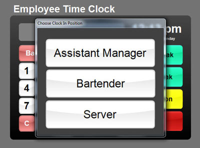 Time Clock Software For Restaurant Point Of Sale Point