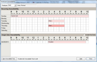 Restaurant POS Employee Scheduling Software - Point of Success